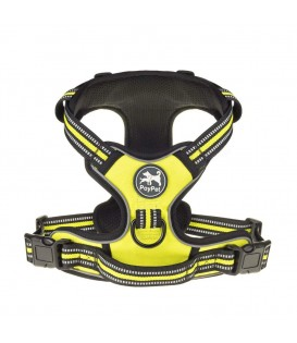 PoyPet 3M Reflective No Pull Dog Harness  ( Green,Over The Head Design)